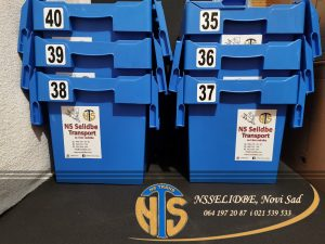 Plastične kutije za selidbu-Selidbe Novi Sad