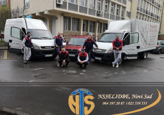 Prevoz nameštaja Novi Sad